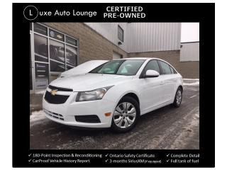 Used 2014 Chevrolet Cruze 1LT ONLY 53K! AUTO-REMOTE START-BLUETOOTH-A/C!! for sale in Orleans, ON