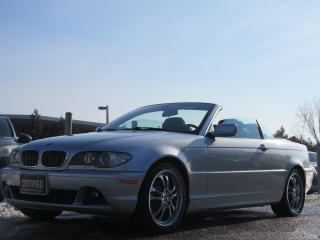 Used 2004 BMW 325Ci CONVERTIBLE / ACCIDENT FREE for sale in Newmarket, ON