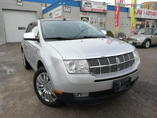 Used 2009 Lincoln MKX ACCIDENT FREE_NAVIGATION_LEATHER_PANORAMIC SUNROOF for sale in Oakville, ON