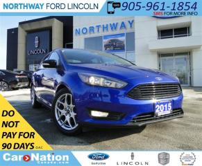Used 2015 Ford Focus SE | REAR CAMERA | LOW KM | REMOTE START | for sale in Brantford, ON