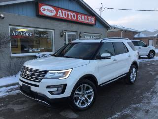 Used 2016 Ford Explorer LIMITED for sale in London, ON