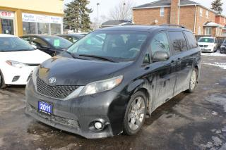 Used 2011 Toyota Sienna SE LEATHER SUNROOF for sale in Brampton, ON