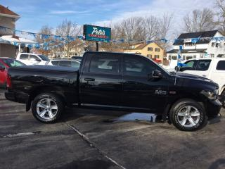 Used 2015 Dodge Ram 1500 SPORT Crew 4x4 for sale in Dunnville, ON