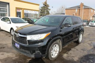 Used 2016 Toyota Highlander LE for sale in Brampton, ON