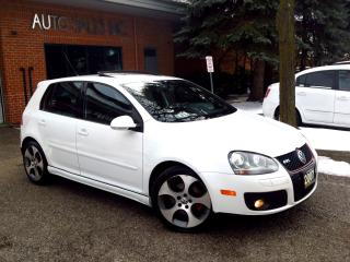 Used 2007 Volkswagen GTI Auto Leather Rust Proofed Low Km CERT for sale in Concord, ON
