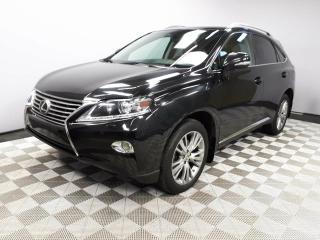 Used 2013 Lexus RX 350 Ultra Premium - Local One Owner Trade In | Leather Interior | Heated/Cooled Front Seats | Heads Up Display | Navigation | Back Up Camera | Parking Sensors | Power Sunroof | Power Liftgate | Blind Spot Monitor | Heated Steering Wheel | Bluetooth | Dual Zon for sale in Edmonton, AB