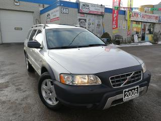 Used 2006 Volvo XC70 2.5T AWD_Leather_Power Sunroof for sale in Oakville, ON