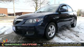 Used 2009 Mazda MAZDA3 GS NO ACCIDENT ALLOYS CERTIFIED for sale in Oakville, ON