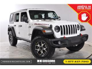 Used 2018 Jeep Wrangler Rubicon 4x4 A/c for sale in Saint-jerome, QC