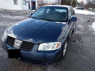 Used 2005 Nissan Sentra 1.8 Special Edition for sale in Mississauga, ON