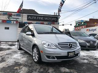 Used 2007 Mercedes-Benz B 200 RARE SPORT PKG MANUAL 5 SPEED!! ((CERTIFIED)) for sale in Hamilton, ON