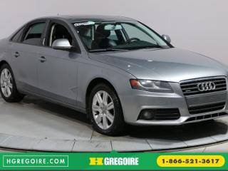 Used 2009 Audi A4 2.0T QUATTRO A/C for sale in Saint-leonard, QC