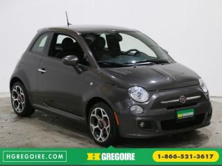 Used 2016 Fiat 500 SPORT CUIR for sale in Saint-leonard, QC