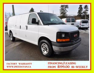 Used 2017 GMC Savana 2500 Extended Only 9,000 Kms for sale in Aurora, ON