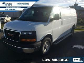 Used 2016 GMC Savana Cargo Van - Low Mileage for sale in Courtenay, BC