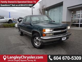Used 1998 Chevrolet K1500 Silverado *AMAZING* ACCIDENT FREE*ONE OWNER* for sale in Surrey, BC