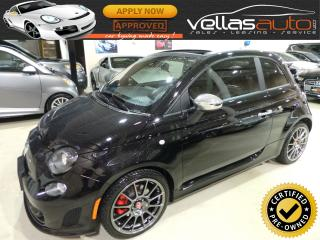 Used 2017 Fiat 500 C ABARTH| COVERTIBLE| NAVIGATION for sale in Woodbridge, ON