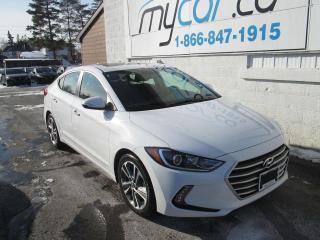 Used 2017 Hyundai Elantra GLS for sale in Richmond, ON
