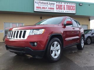 Used 2012 Jeep Grand Cherokee Laredo for sale in Bolton, ON