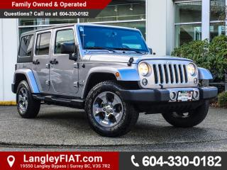 Used 2017 Jeep Wrangler Unlimited Sahara NO ACCIDENTS! for sale in Surrey, BC
