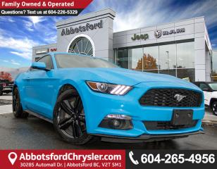 Used 2017 Ford Mustang EcoBoost *ACCIDENT FREE* *LOCALLY DRIVEN* for sale in Abbotsford, BC