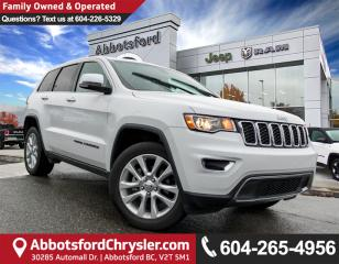 Used 2017 Jeep Grand Cherokee Limited *ACCIDENT FREE* for sale in Abbotsford, BC