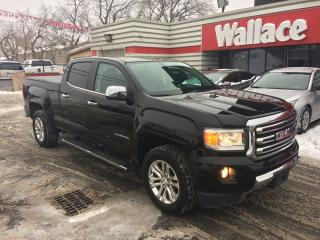 Used 2015 GMC Canyon SLT Crew Cab 4WD Short Box for sale in Ottawa, ON