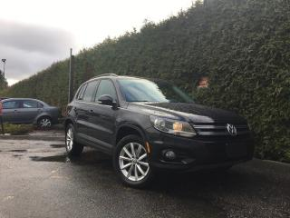Used 2017 Volkswagen Tiguan Wolfsburg Edition for sale in Surrey, BC