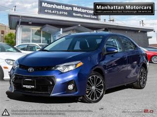 Used 2014 Toyota Corolla S AUTO |CAM|ROOF|ALLOY|WARRANTY|SERVICERECORDS for sale in Scarborough, ON