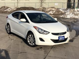 Used 2011 Hyundai Elantra 4 door, Automatic, Low km, A/C, 3/Y warranty avail for sale in North York, ON