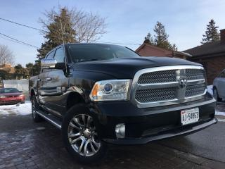 Used 2014 Dodge Ram 1500 Longhorn Limited Top of the Line The BEST for sale in Bradford, ON