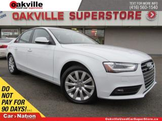 Used 2013 Audi A4 2.0T (Tiptronic) | LEATHER | SUNROOF | BLUETOOTH for sale in Oakville, ON