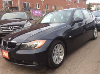 Used 2006 BMW 3 Series 3.0L/325i Low KM 140K Push Start/Leather/Sunroof for sale in Scarborough, ON