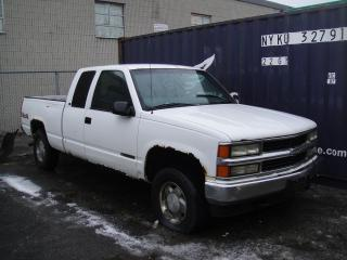 Used 1998 Chevrolet Silverado 2500 4X4 V8-RUNS AND DRIVES,FRAME IS GOOD for sale in North York, ON
