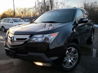 Used 2008 Acura MDX Accident Free|Leather|Sunroof|Alloys wheels| for sale in Oakville, ON