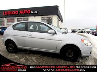 Used 2007 Hyundai Accent GSAutomatic Ac Certified 2 Years Warranty for sale in Milton, ON