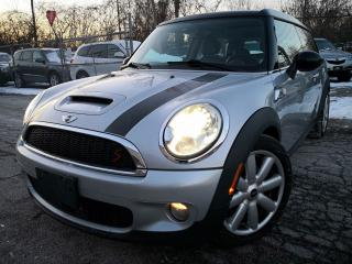 Used 2009 MINI Cooper Clubman S Clubman  Alloys Wheels Leather Sunroof Bluetooth for sale in Oakville, ON