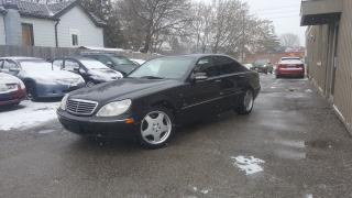 Used 2000 Mercedes-Benz S-Class S500 AMG for sale in Cambridge, ON