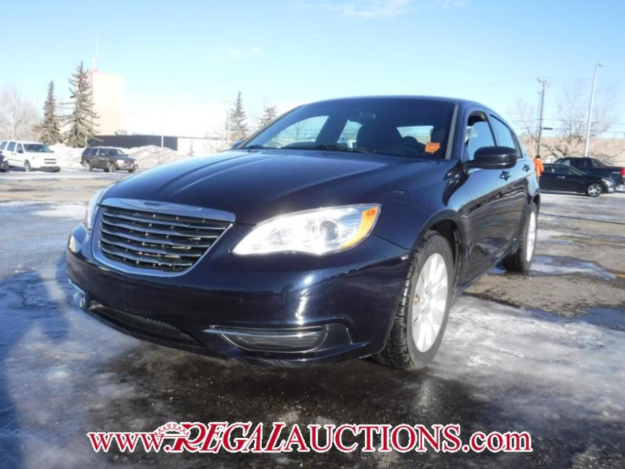 Photo of Blue 2012 Chrysler 200 LX 4D SEDAN FWD 2.4L