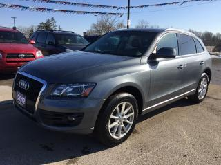 Used 2012 Audi Q5 3.2 QUATTRO * AWD * LEATHER * NAV * REAR CAM * PANO SUNROOF for sale in London, ON