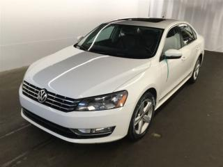 Used 2015 Volkswagen Passat 2.0 TDI,LEATHER,SUNROOF,CAMERA for sale in Aurora, ON