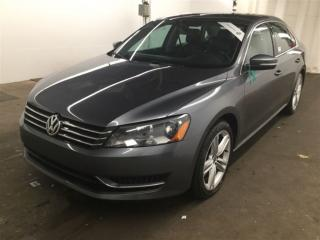 Used 2014 Volkswagen Passat 2.5L,LEATHER,SUNROOF for sale in Aurora, ON