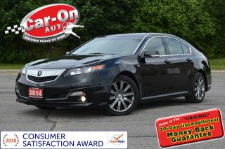 Used 2014 Acura TL A-Spec V6 LEATHER SUNROOF HTD SEATS ALLOYS LOADED for sale in Ottawa, ON