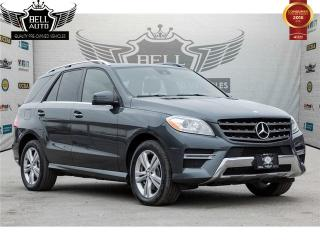 Used 2015 Mercedes-Benz ML 350 4MATIC BlueTEC NAVIGATION NO ACCIDENTS BLIND SPOT DETECT for sale in Toronto, ON