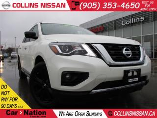 Used 2017 Nissan Pathfinder PLATINUM   $242.00 BI-WEEKLY   EXECUTIVE DEMO   for sale in St Catharines, ON