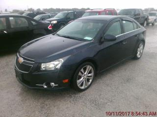 Used 2014 Chevrolet Cruze 2LT-RS-SPORT-LEATHER-SURNOOF-ONLY 97KM for sale in York, ON