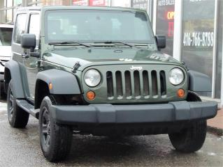 Used 2009 Jeep Wrangler X for sale in Etobicoke, ON