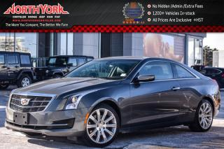 Used 2017 Cadillac ATS Coupe AWD|Leather|Sunroof|BOSE|Heat.Frnt.Seats|18