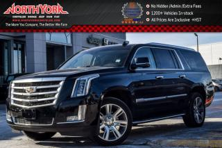 Used 2017 Cadillac Escalade ESV Luxury AWD|7-Seater|HeadsUp|DVD Screens|Sunroof|22