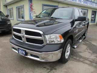 Used 2016 Dodge Ram 1500 GREAT VALUE TRADESMEN EDITION 6 PASSENGER 5.7L - HEMI.. 4X4.. QUAD-CAB.. SHORTY.. BACK-UP CAMERA.. AUX/USB INPUT.. KEYLESS ENTRY.. for sale in Bradford, ON